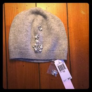 Bejeweled Knit Hat from The Cashmere Project.